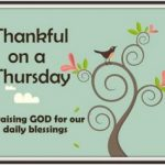 Thankful on a Thursday 12/01/2010…