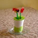 Tissue Paper Garden Craft