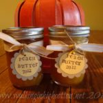 Canning Peach Butter