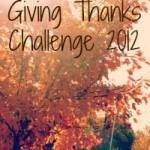 Giving Thanks Challenge 2012