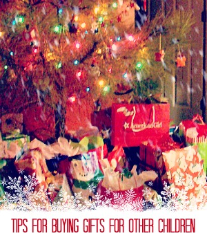Tips for Buying Gifts for Other Children
