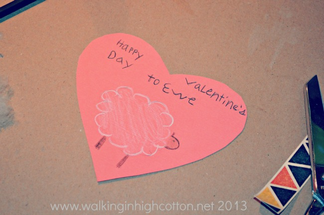 "Happy Valentines Day to ""Ewe"" via Walking in High Cotton"