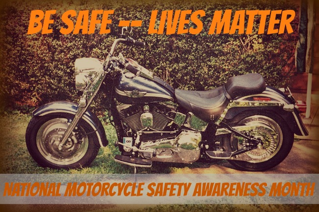 May 2013 National Motorcycle Safety Awareness Month {via www.walkinginhighcotton.net}
