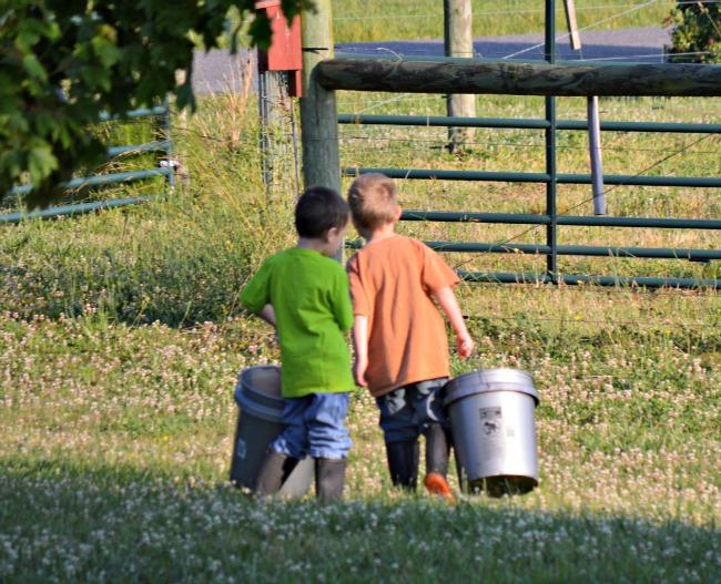 5 tips for helping siblings get along {via www.walkinginhighcotton.net}