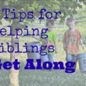 5 tips for helping siblings get along {via Walking in High Cotton}