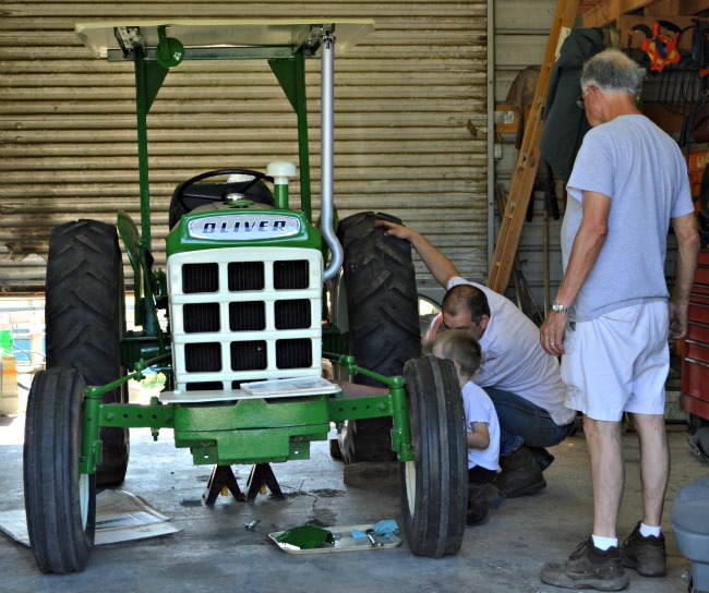 oliver tractor 1