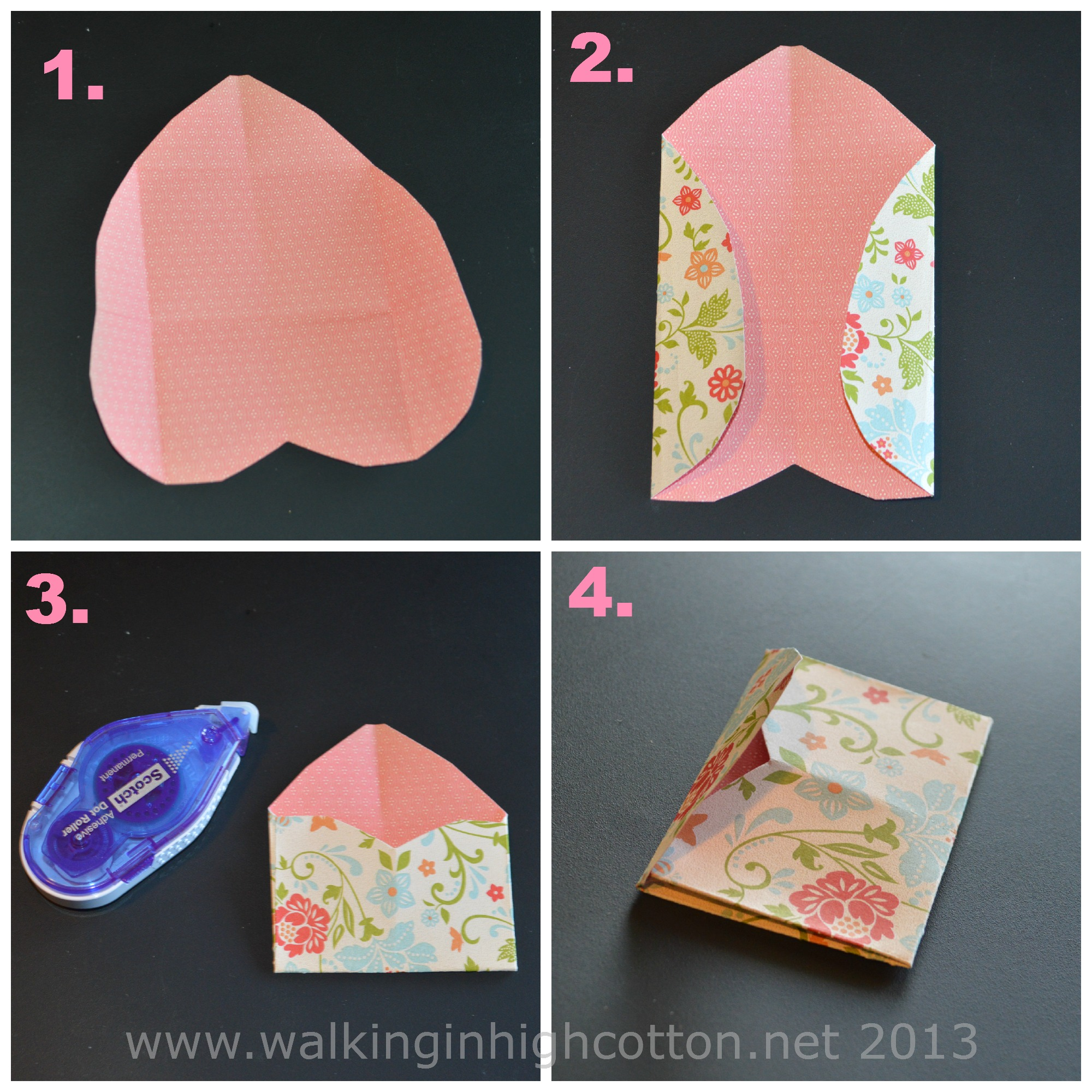 mini envelope tutorial 2