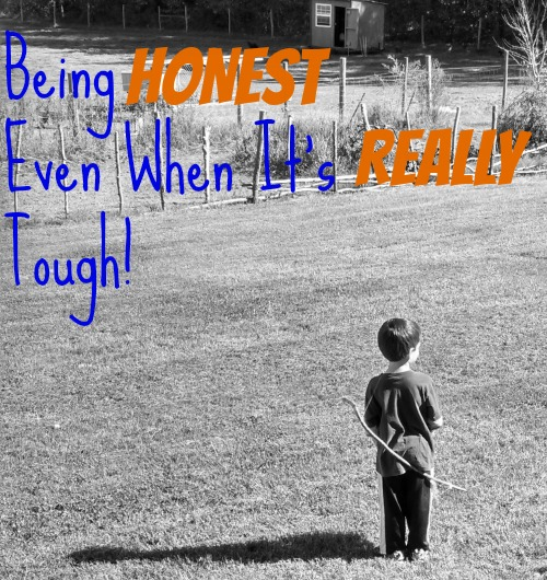 Being Honest with your Children...Even When It's Really Tough  {via Walking in High Cotton}