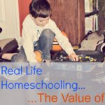 Real Life Homeschooling…Learning with Down Time