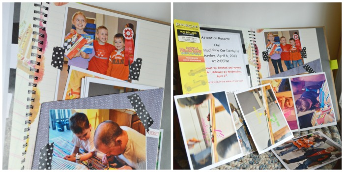Since I use the smashbooks AS family scrapbooks now, I use a lot of pictures. Pockets are a great way to fit them in.
