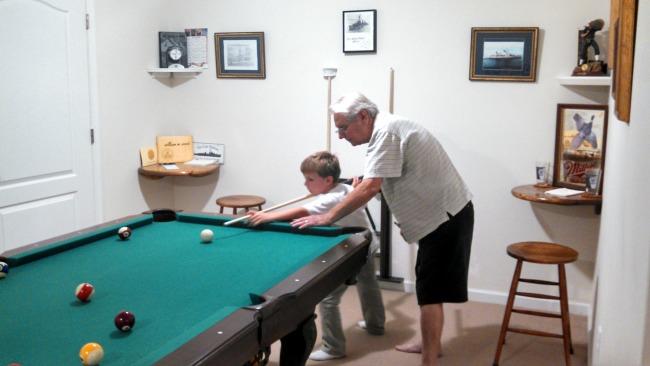 with grandpa 5