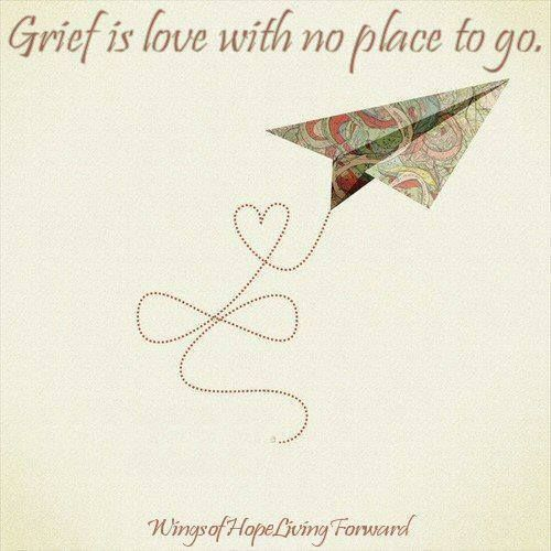 Grief is love with no place to go