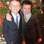 When You Force Your Kids to Smile…Christmas Eve Pictures