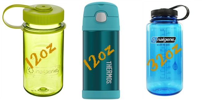 Drink containers for packing lunch boxes