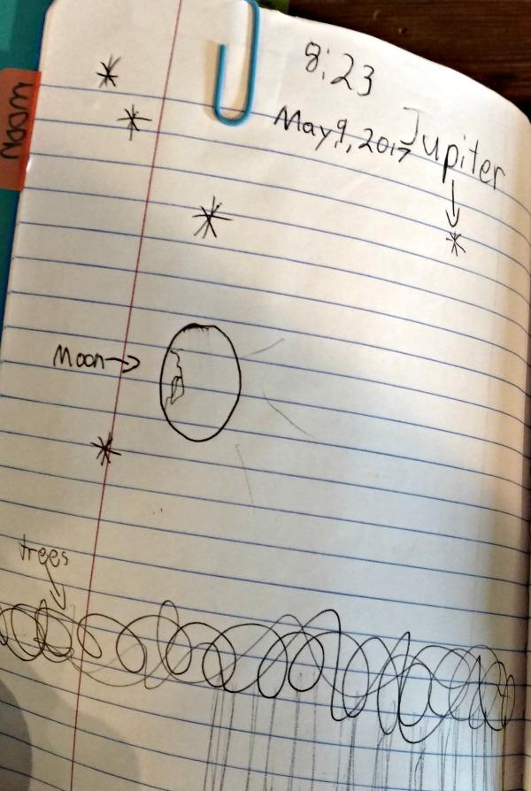 summer star notebook