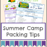 How to Pack for Overnight Summer Camp (with FREE Checklists!)