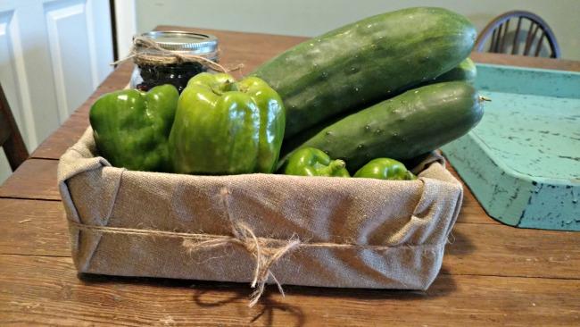 a simple garden gift box tutorial