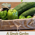 A Simple Garden Gift Box Tutorial...Sending Love from the Garden via Walking in High Cotton. Frugal, Quick, Easy, Generous.