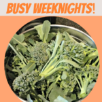 How to Have Real Food for Dinner on Crazy Busy Weeknights