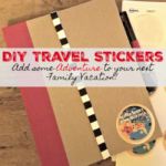 DIY Personalized Travel Sticker for Family Road Trips