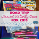 Road Trip Travel Activity Case for Kids via Walking in High Cotton. Simple, thrifty, fun for family road trips