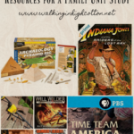 Resources and Ideas for a Family Unit Study on Archaeology