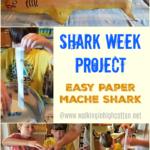 How to Make a Paper Mache Shark for Shark Week