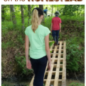 How to use wooden pallets as small bridges around the homestead. Via Walking in High Cotton