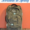 "Packing Light for Scotland...lessons learned from carry-on only travel for a week. 1 week, 1 backpack. Some of the ""advice"" that worked (and didn't work) for us. via Walking in High Cotton"