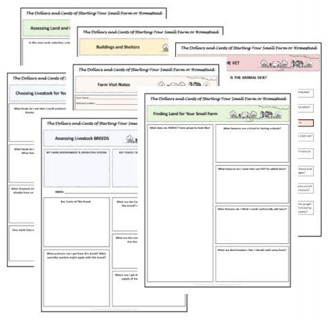 planning worksheets